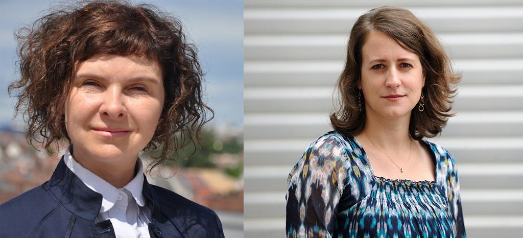 Elena Jerzdeva und Jutta Sommerbauer