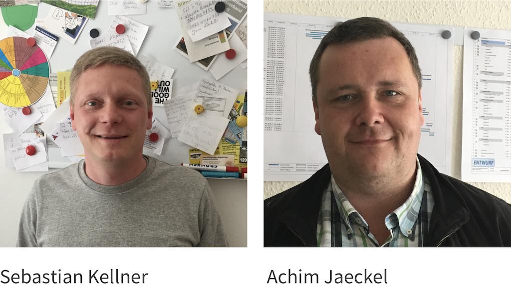 Sebastian Kellner und Achim Jaeckel