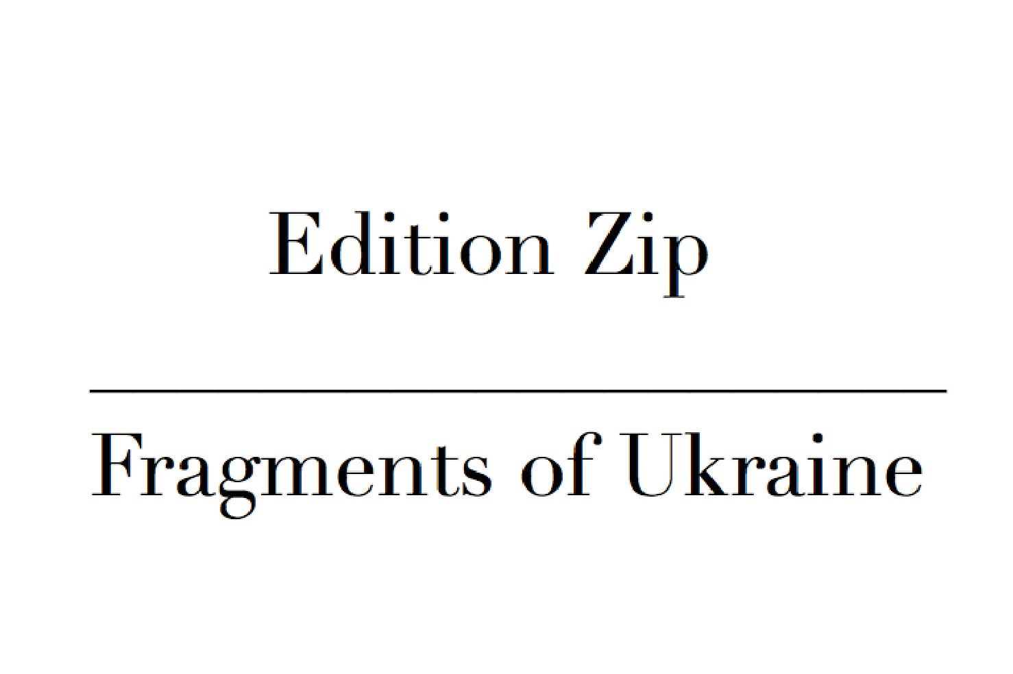 Verlag Edition Zip