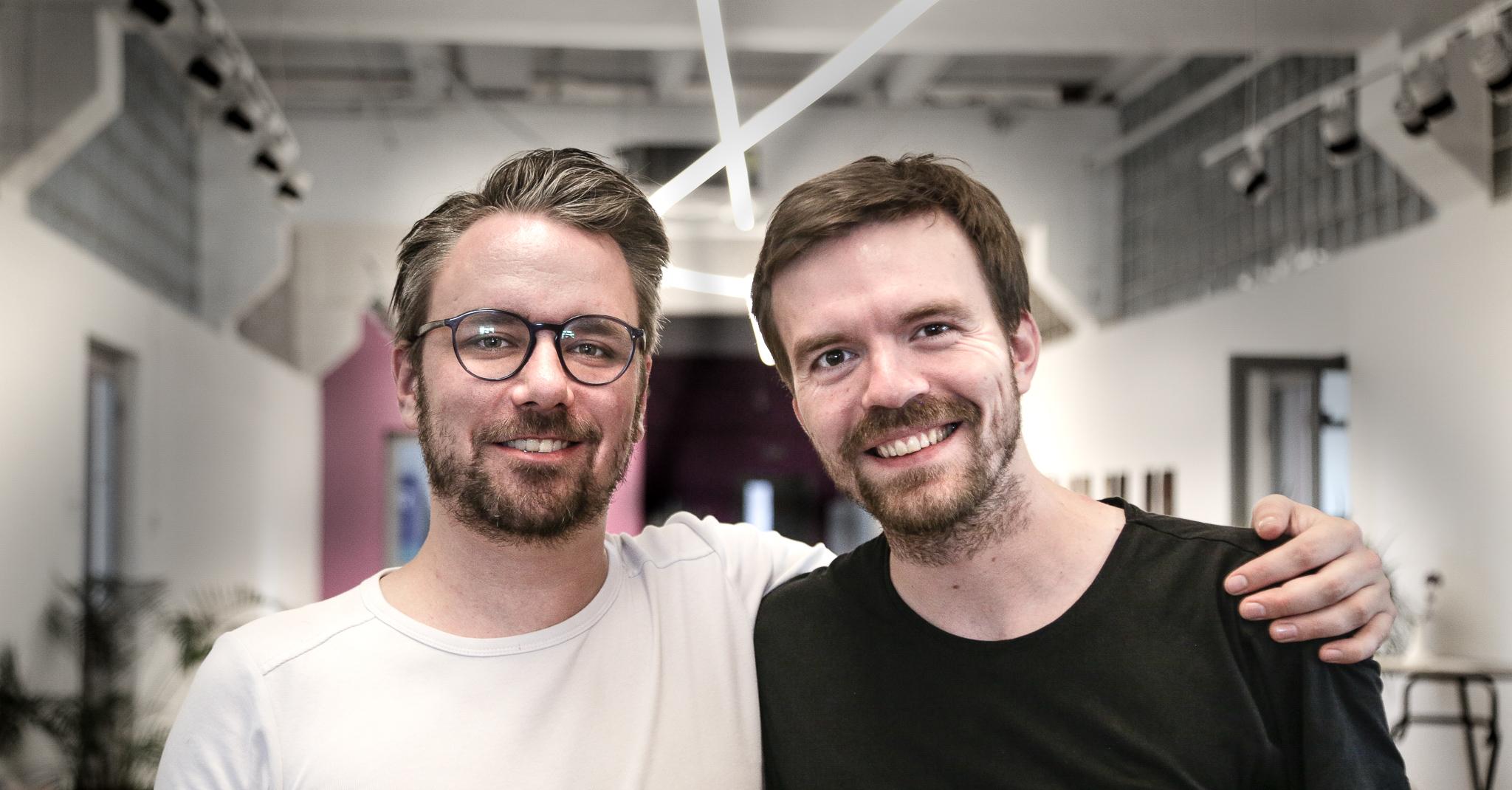 Moritz Schulz und Konrad Walter